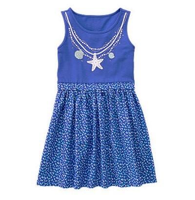 657: VÁY GYM XANH 3D XUẤT XỊN ĐÉT. Sz 4 - 10t. 1 ri 8 váy. thân trên cotton mềm, thân dươi kate thô mềm.