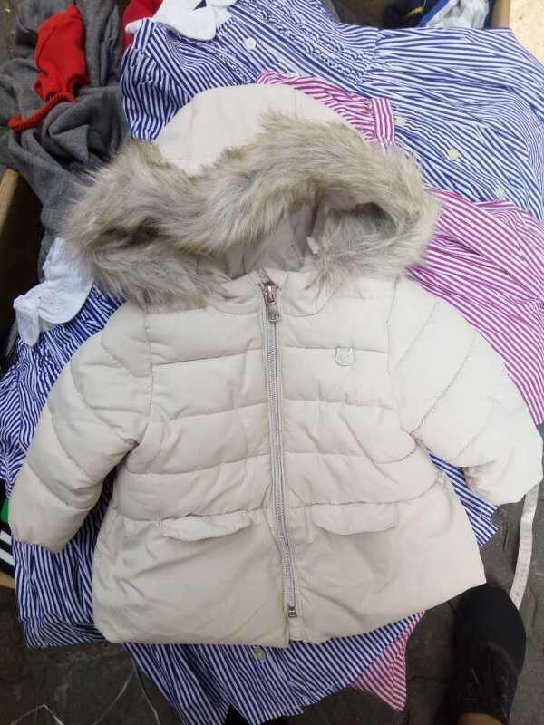 973: HÀNG ĐANG VỀ :-* - Áo phao Zara baby xuất dư lót nỉ dư xịn - Sz 68-74-80-86-92.