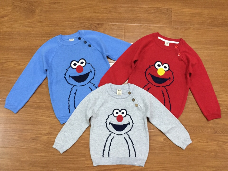 994:  Xì trum tươi vui, bé nào cũng thích, mặc lên là thấy đáng iu rồi. - Size 2 - 6t. 1 ri 12 áo trộn 3 màu.