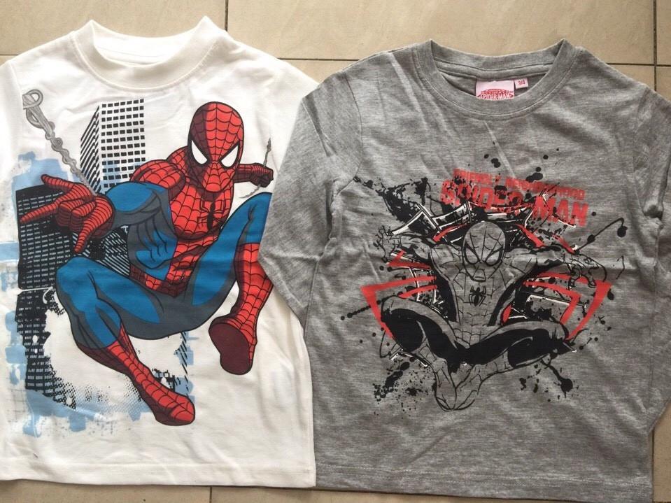 1157: Áo Spiderman BT 1 - 4t - 1 ri 10 trộn 2 màu