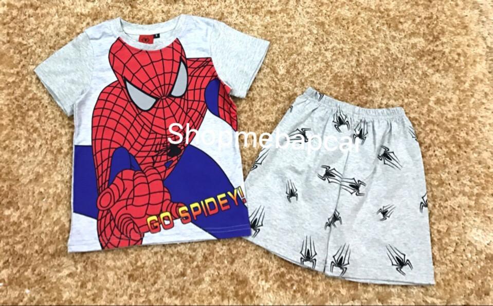 1023  BỘ GO SPIDERMAN BT 3D HOT HOT